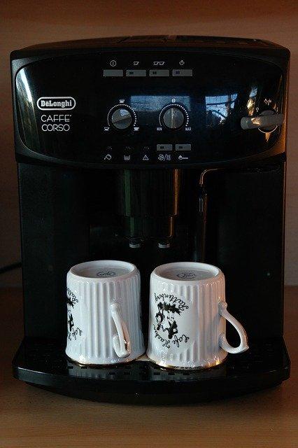 modern coffee machine