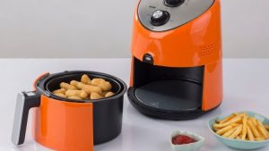 cooking frozen foods in an air fryer