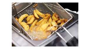 using water in a deep fryer
