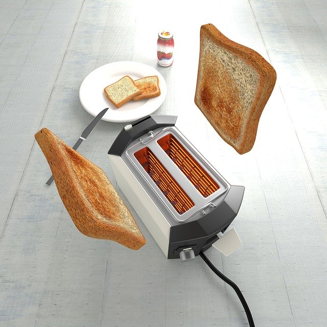 toast frozen bread