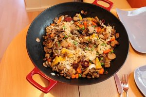 does a wok work on an electric stove?