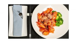 comparison between sasame and general tso chicken