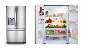 different fridges
